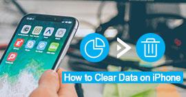 Wyczyść dane na telefonie iPhone