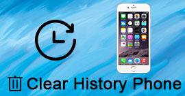 Εκκαθάριση ιστορικού Phoner