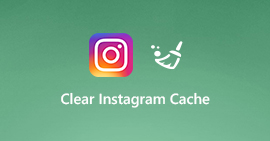 Wis Instagram Cache op iPhone