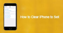 Εκκαθάριση iPhone για πώληση
