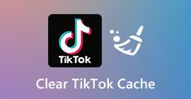 Wyczyść pamięć podręczną TikTok