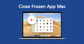 Chiudi un'app congelata su Mac
