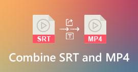 Συνδυάστε SRT και MP4