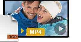 konwertuj 3GP na MP4