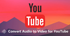 Converti audio in video per YouTube