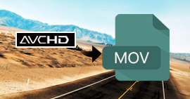 Come convertire i video AVCHD in MOV con AVCHD Video Converter