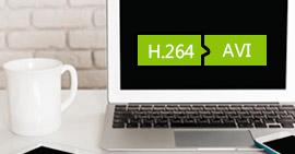 如何將H.264轉換為AVI