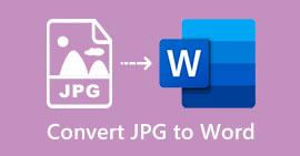 Converti JPG in Word