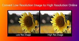 Zvyšte rozlišení obrázků