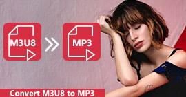 Konwertuj M3U8 / M3U na MP3