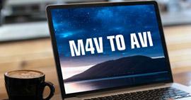 Converti M4V in AVI