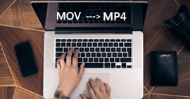 Converti MOV in MP4 su Mac