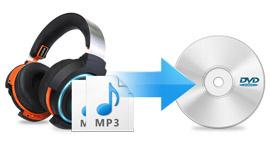 Převést MP3 na DVD