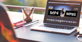 Come convertire MP4 in MPEG su Mac / Windows