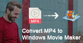 How to Convert and Import MP4 to Windows Movie Maker