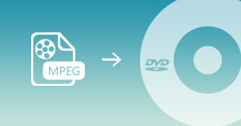 Converti video MPEG in DVD