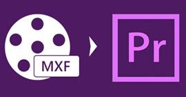 Converti MXF in Adobe Premiere Pro MPEG-2