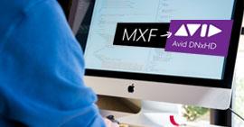 Μετατρέψτε τα αρχεία MXF σε Avid DNxHD σε Mac