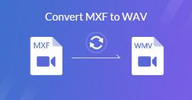 Převést MXF na WAV