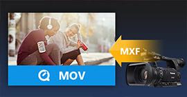 Converti Panasonic P2 MXF in QuickTime MOV