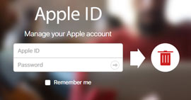 Delete Apple ID