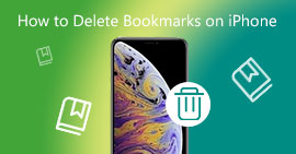 Delete Bookmarks on iPhone