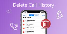 刪除通話記錄iPhone