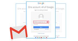 Διαγραφή λογαριασμού Gmail