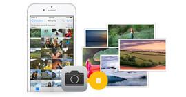 Elimina le foto di iPhone