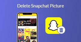 刪除Snapchat圖片