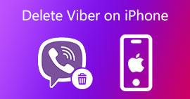 Usuń konto Viber na iPhonie