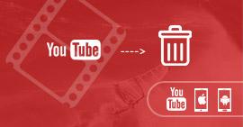 Διαγραφή βίντεο YouTube