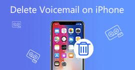 Διαγραφή φωνητικού ταχυδρομείου στο iPhone