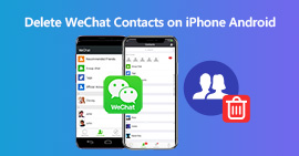 Delete WeChat Contacts