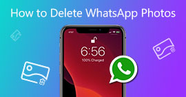 Elimina le foto di WhatsApp