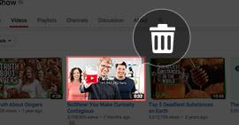 Rimuovi canale YouTube