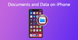 Come cancellare documenti e dati da iPhone / iPad