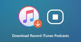 Scarica Registra podcast iTunes