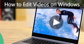 Modifica video su Windows