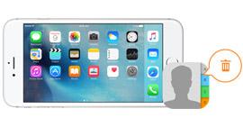 Cancella contatti su iPhone