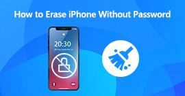 Usuń iPhone'a bez hasła