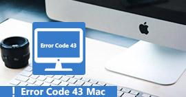 Codice errore -43