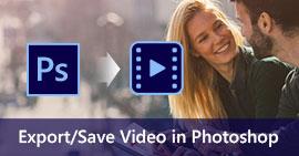 Uložit video ve Photoshopu