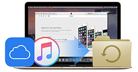 Estrai il backup di iPhone su Mac