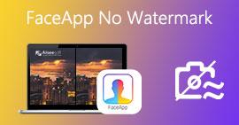 Usuń znaki wodne ze zdjęć FaceApp
