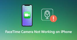 Aparat FaceTime nie działa na iPhonie