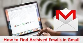 Trova email archiviate