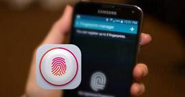 Εφαρμογή οθόνης κλειδώματος δακτυλικών αποτυπωμάτων