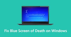 Διορθώστε την μπλε οθόνη των παραθύρων θανάτου