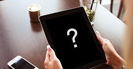 3 způsoby, jak opravit iPad Black Screen